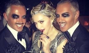 Madonna durante la fiesta. / E.P.