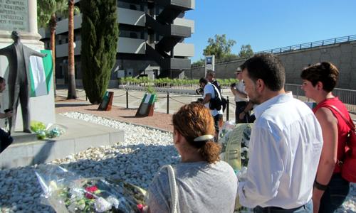 Homenaje de IULV-CA a Blas Infante