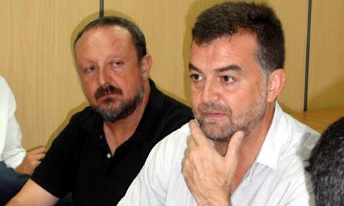 El coordinador de IU-CA, Antonio Maíllo