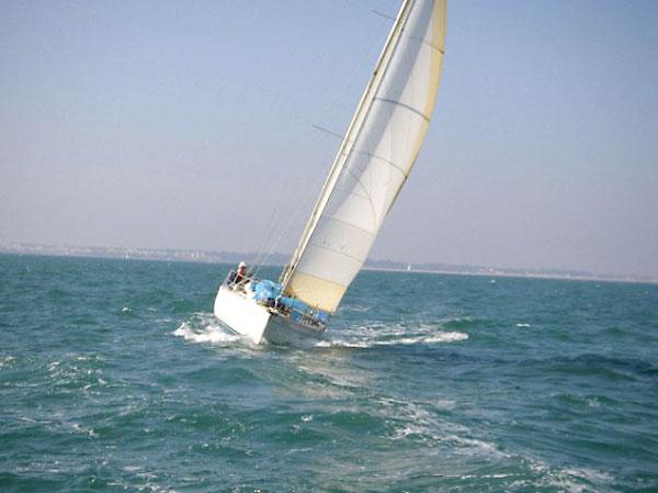 El velero 'Agata'. / El Correo