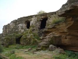 Necrópolis de Los Algarbes. Foto: El Correo