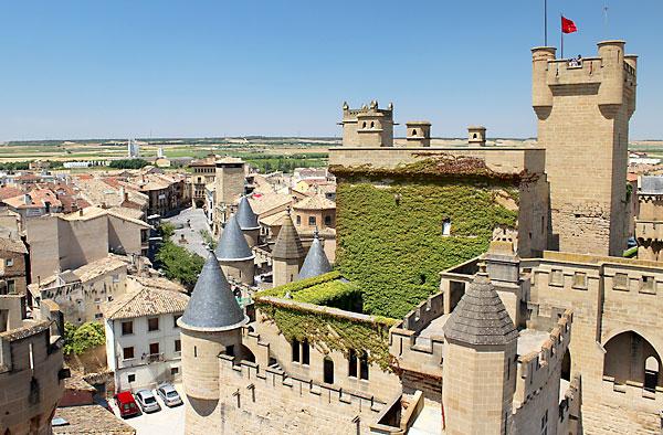 Olite, municipio de Navarra.