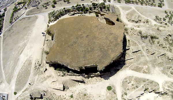 """Vista de las canteras de Osuna, posible localización para convertirse en escenario de """"Juego de Tronos"""". EFE/Rafa Alcaide"""