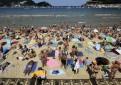 Lleno en las playas españolas el primer fin de semana de agosto. / Foto: Efe