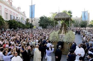 Procesión de la Virgen de los Reyes 2014. / José Luis Montero