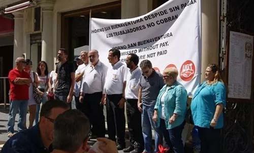 protestas horno san Buenaventura