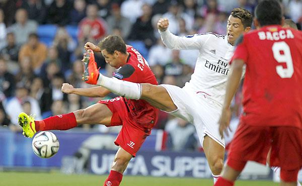 Supercopa de europa real madrid sevilla fc fotos el for Correo real madrid