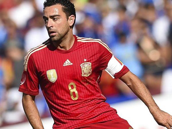 Xavi Hernández ya no volverá a vestir la camiseta de España. Foto: EFE