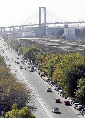 La avenida de La Raza, donde habrá un nuevo parque infantil. / Gregorio Barrera