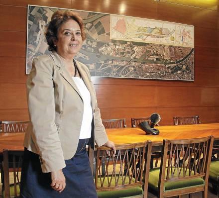 El nombramiento de Carmen Castreño como presidenta del Puerto se anunció a finales de marzo. / José Luis Montero