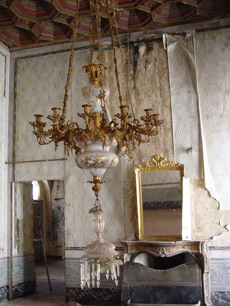 Estado en el que se encuentran las dependencias interiores del palacio. / M.R.