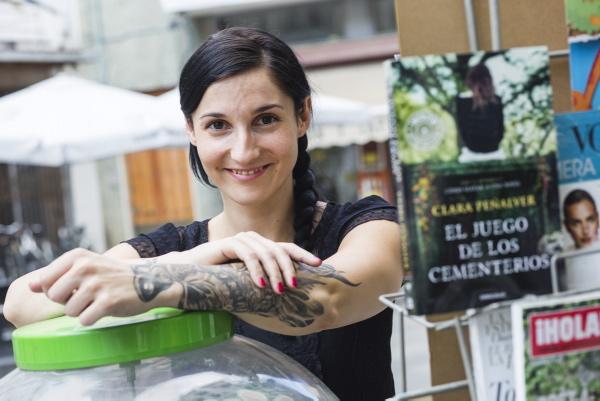 La escritora Clara Peñalver.