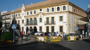 La Plaza de la Constitución de Dos Hermanas, en el Día Europeo sin coches de 2013. Foto: M. G.