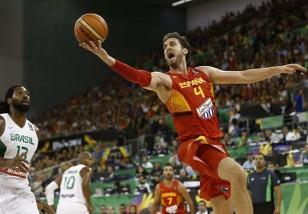 Pau Gasol selección española Brasil Mundial