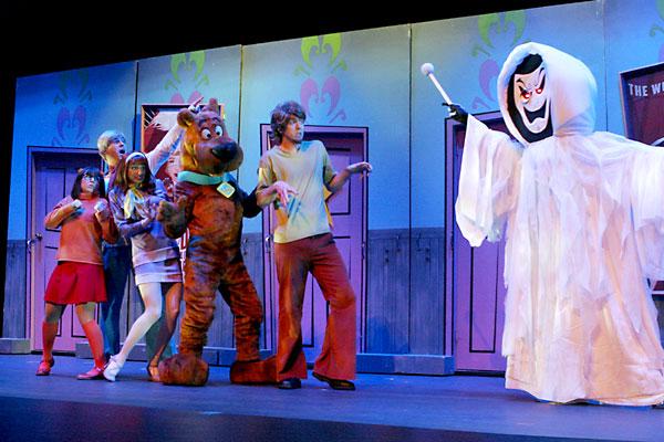 El espectáculo de Scooby-Doo en Sevilla Factory. / El Correo