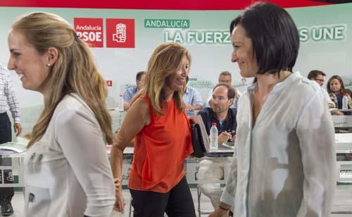 SUSANA DÍAZ INTERVIENE ANTE COMITE DIRECTOR PSOE-A