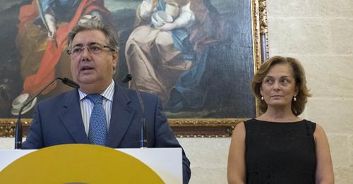 Juan Ignacio Zoido y Dolores de Pablo-Blanco