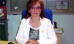 La presidenta de Lenguaje Jaén, Margarita Cárdenas. / El Correo