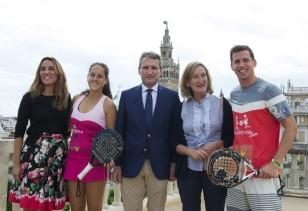 Presentación World Padel Tour Sevilla