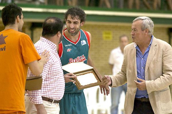 Baloncesto Sevilla - Valencia Basket. Berni Rodríguez. / Foto: Inmaculada Flores