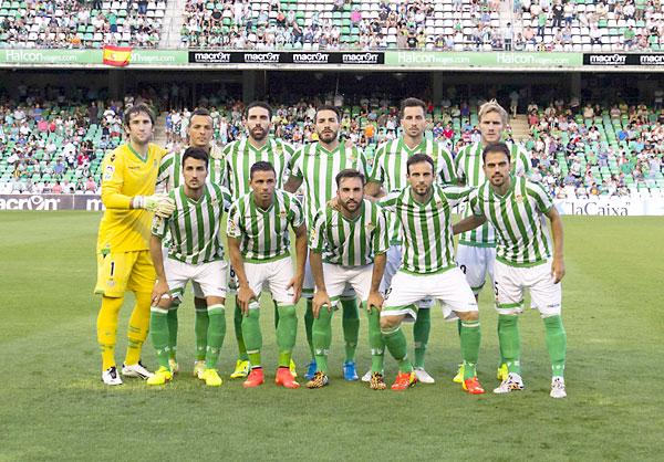 Real Betis - Llagostera. Alineación inicial. / Foto: Inmaculada Flores