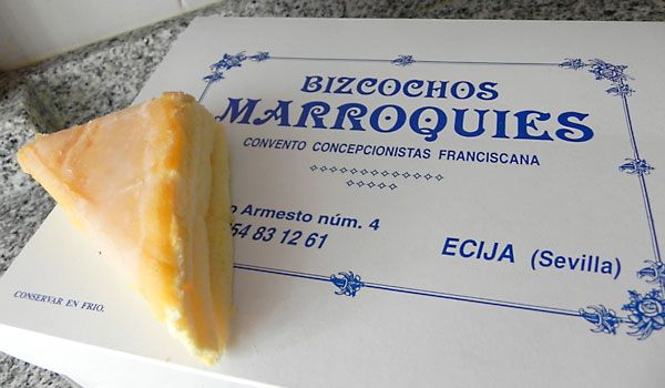 Bizcochos marroquies de Écija.