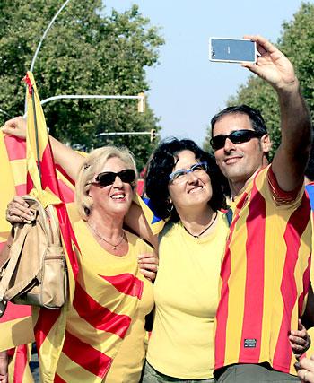 Manifestación en Barcelona. / EFE