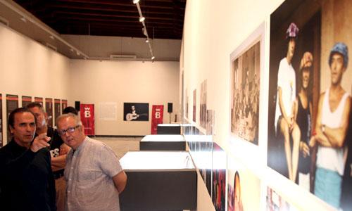 Exposición de Paco de Lucía en el Convento de Santa Clara por la Bienal