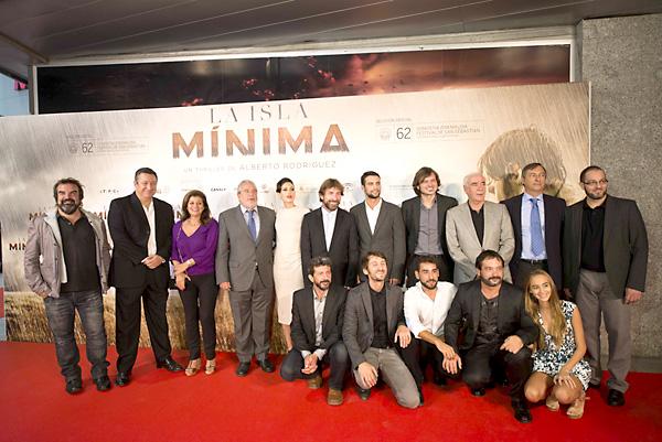 Premier de 'La Isla Mínima' en los cines Nervión Plaza de Sevilla. / Foto: José Manuel Paisano