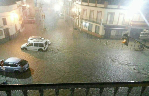 lluvia Cantillana