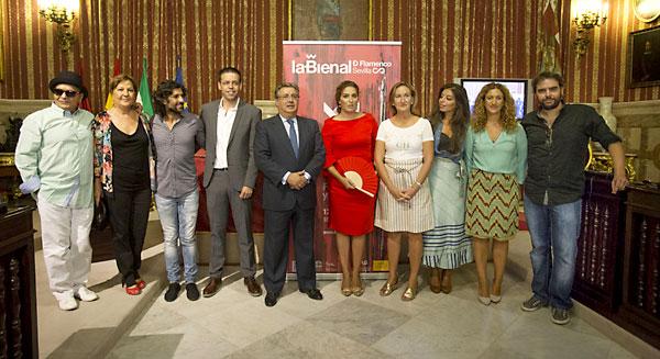Presentación del espectáculo inaugural de la Bienal de Flamenco, dedicado a Enrique Morente. / Pepo Herrera