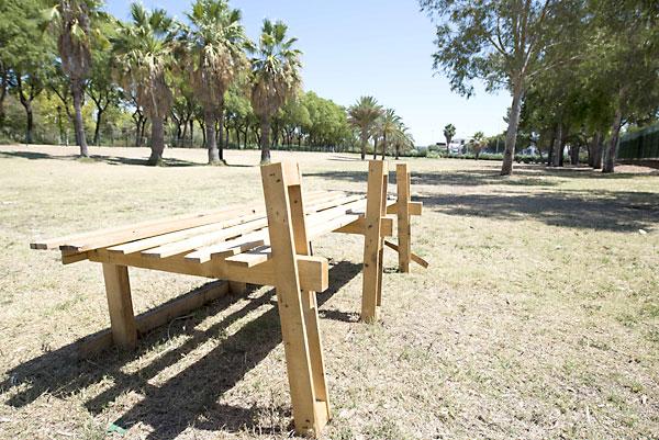 Imagen del estado del Parque Amate en Julio. / J.M.Paisano