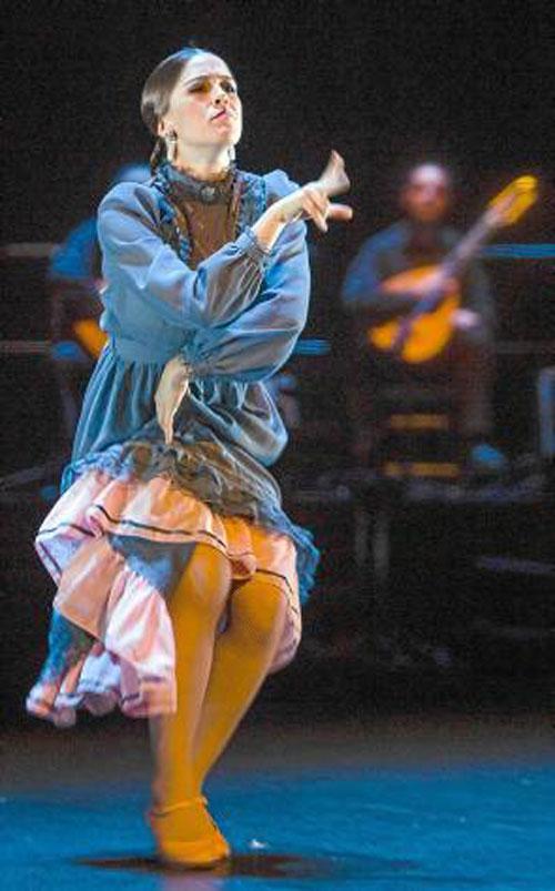 Patricia Guerrero deslumbró en su paso por el Teatro Central. / Foto: El Correo