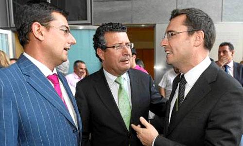 Villalobos (a la izquierda) se presentará como candidato del PSOE en Utrera, no así Franco (a la derecha) en Coria. / Foto: Javier Cuesta