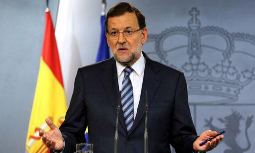 RUEDA DE PRENSA DE RAJOY TRAS CONSEJO DE MINISTROS EXTRAORDINARIO