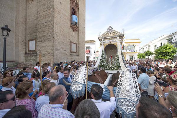Bicentenario de la hermandad del Rocío de Umbrete. / Foto: J.M.Paisano