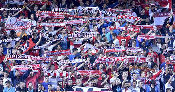 Sevilla FC - Feyenoord. / Foto: Manuel Gómez