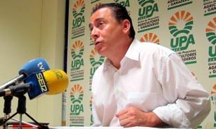 El secretario general de UPA-Andalucía, Agustín Rodríguez.