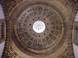 Estado actual de la cúpula del templo lebrijano.