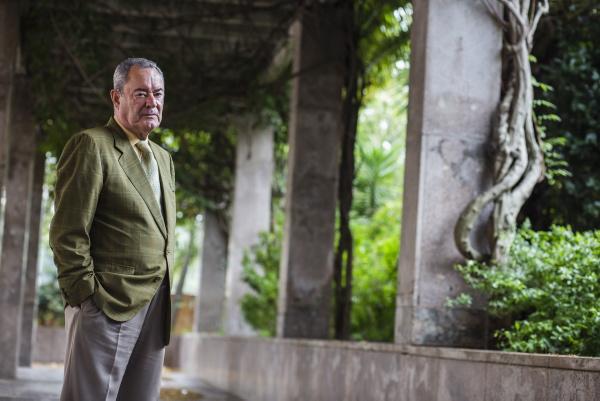Francisco Moreno, presidente de Aminer, patro-nal de las empresas mineras. / Carlos Hernandez
