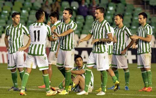 Partido de jornada de Copa del Rey entre el Betis y el Lugo. Foto: Manuel Gómez