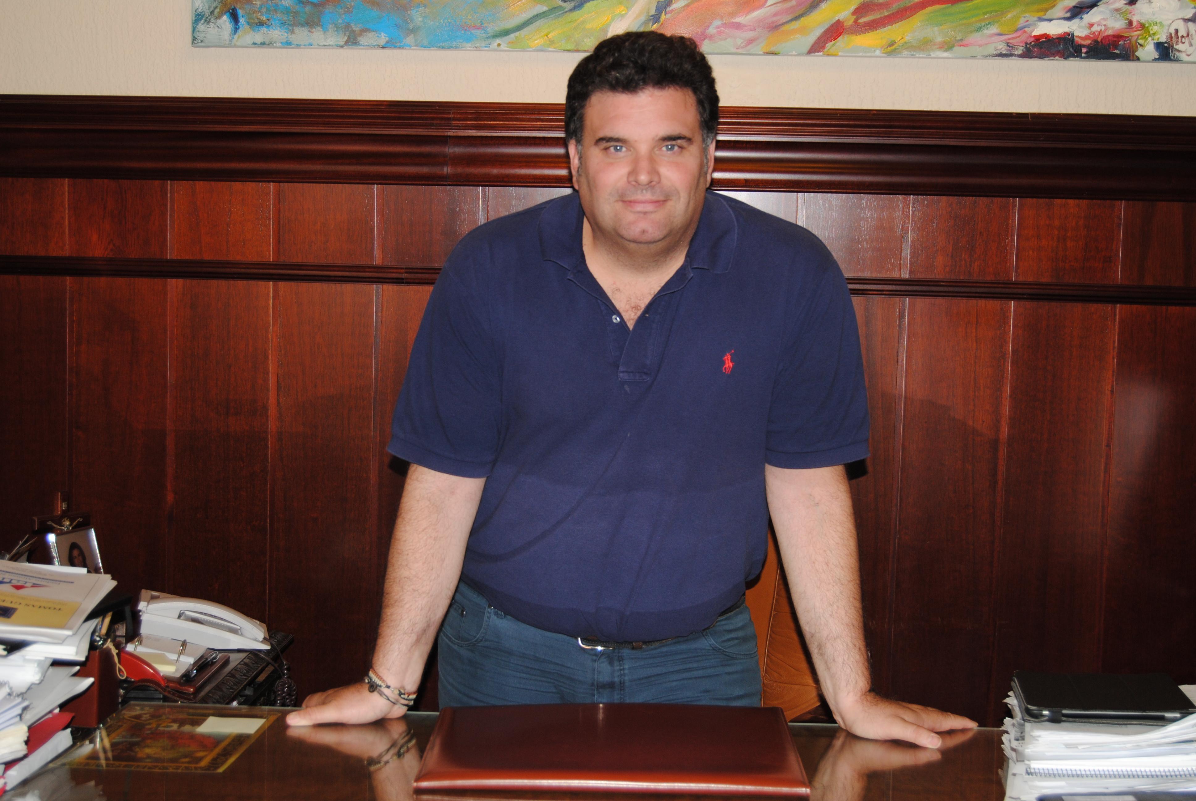 El alcalde de Morón de la Frontera, Juan Manuel Rodríguez.