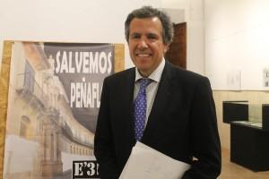 El abogado Fernando Osuna, en las jornadas de Amigos de Écija. Foto: M. R.