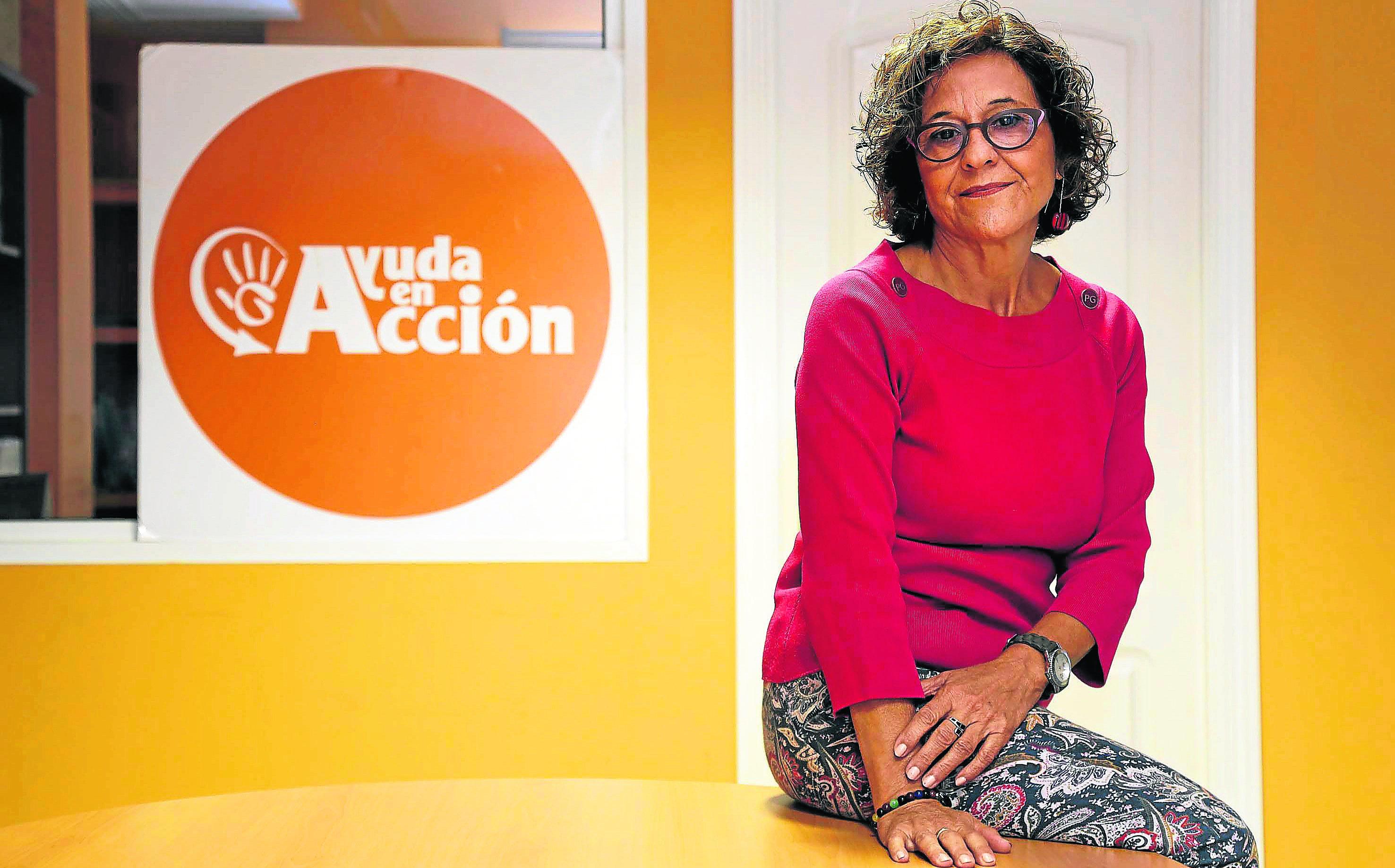 Carmen Díaz, de Ayuda en Acción. / José Luis Montero