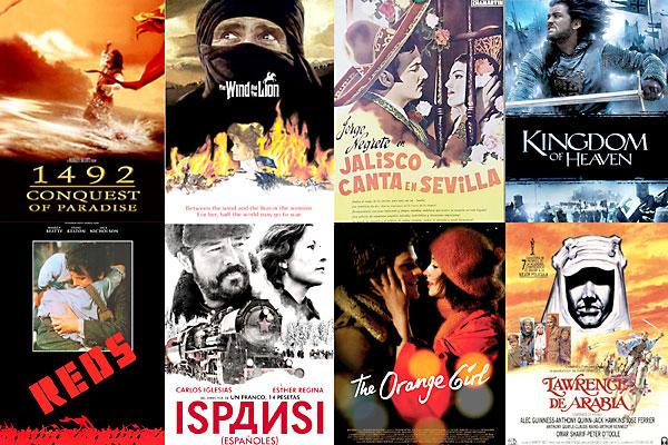 Ocho producciones que han tenido al Alcázar como escenario clave de sus historias.