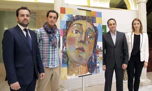 Presentación del cartel anunciador de la Romería de Torrijos. / José Luis Montero