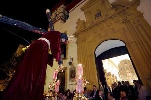 Las imágenes titulares de San Roque vuelven a su templo. / Foto: José Luis Montero