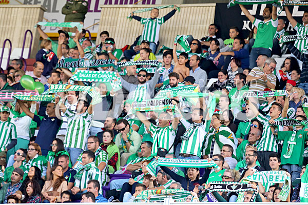 Real Valladolid- Real Betis. / Foto: LOF
