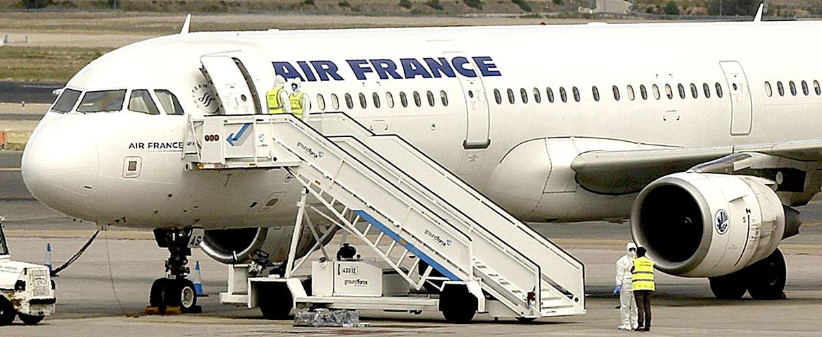 avión_Air_France_Ébola