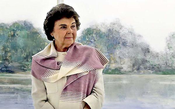La artista Carmen Laffón. / José Luis Montero